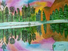 Original Landscape Painting by Shravani Somayajula Oil On Canvas, Canvas Art, Original Art, Original Paintings, Photorealism, Buy Art, Reflection, Saatchi Art, Landscape