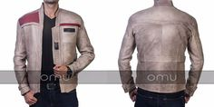 Star wars Force Awakens Finn Leather Jacket Have a look: http://ebay.to/2f7UThh  Inspiring from famous movie Star Wars The Force Awakens John Boyega Antique Beige Jacket made from Real Leather available in our store at discounted price.