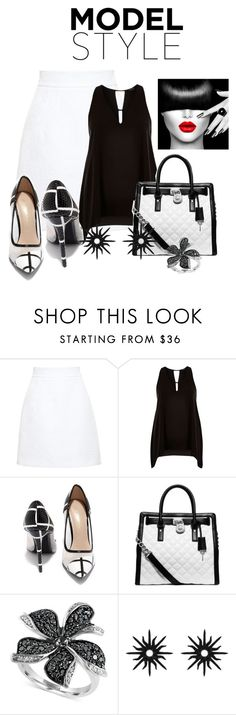 """Untitled #2454"" by janicemckay ❤ liked on Polyvore featuring Dolce&Gabbana, River Island, Shoe Republic LA, Michael Kors, Effy Jewelry, Christina Debs, women's clothing, women, female and woman"