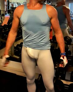 bulges, musclemen, lycra and bearded men ...