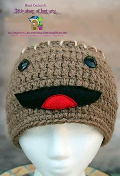 Little big planet inspired thick ready to by LittleShopOfLostArts