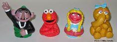 Mikey's Muppet Memorabilia Museum: Sesame Street: 1980-1989