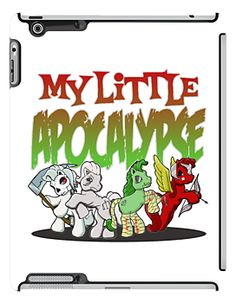 """My Little Apocalypse"" iPad Cases by mikmcdade 