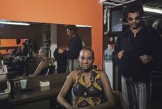 At the hairdressers, Harlem 1970, x