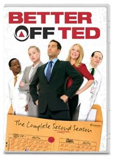 Better Off Ted - The 2nd (and Final) Funny Season Comes to DVD at Long, Long Last!