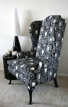 Skull Chair Full Angle