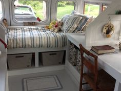 Woman Turns School Bus into DIY Tiny Cottage on Wheels!