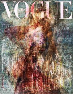 2010 Vogue Cover Art Korea