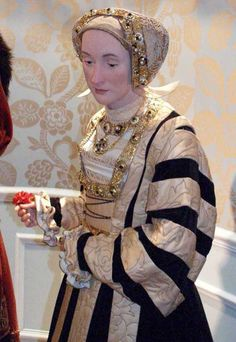 Anne of Cleves wax figure.
