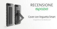 Recensione Cover per iPhone 7 e 7 Plus con una praticissima linguetta simile alla Smart Cover