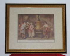 framed and matted decorative historic patriotic scene print; RSOL Attic Sale April 4-6, 2014 and receiving every MWF from 10 AM to 2:30 PM prior to April 4th! RSOL Attic Sale April 4-6 from 9 AM to 2 PM, and receiving every MWF from 10 AM to 2:30 PM through 3/31/14! — at 8010-8012 Staples Mill Road Richmond, VA 23228.