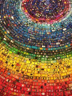 toy car rainbow-- wow!