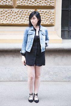 outfit: denim love, fashion www.blackbeachchair.com