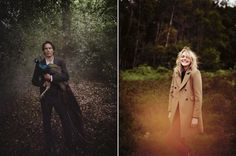 This photography is downright gorgeous // Miss Moss : Aubin & Wills Autumn 2012