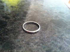 Platinum Wedding Band Ring by #VeryVintageJewelsArt on #Etsy, $195.00. #vintage #vintagejewelry #platinum #ring #weddingring #weddingband #wedding #brideandgroom #bridal #bride #ido