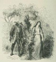 Xavier de Maistre - Le Lépreux de la cité d'Aoste, ilustración de Staal (1862)