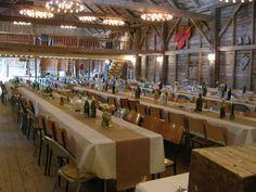 Wedding Reception Rentals - The Music Barn - Sackville, NB