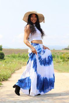 Boho Skirt / Maxi Skirt / Maxi Boho Skirt /Modest Skirt / Beach Skirt /Full Length skirt / Tie Dye Skirt/ Long Skirt Modest Skirts, Boho Skirts, Maxi Skirt Outfits, Boho Outfits, Beach Skirt, Beach Dresses, Drop Crotch Pants, Full Length Skirts, Summer Looks