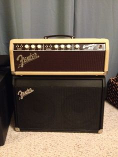 1963 Fender Bassman Blonde Amp Head I just had recapped