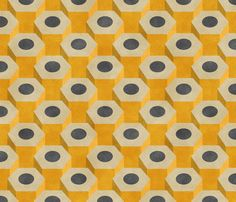 No. 2 Pencils fabric by siya on Spoonflower - custom fabric