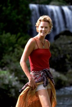 """Charlize Theron in """"Mighty Joe Young"""" 1998."""