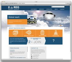 2-REG.com website, verzorgd door Reclamebureau Holland
