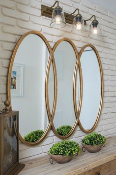 Oversized Mirror, Wreaths, Furniture, Home Decor, Decoration Home, Room Decor, Home Furnishings, Bouquet, Arredamento