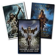 Kathleen O'Neal Gear, W. Michael Gear, Authors, People Series, Wyoming Authors, Historical Novels, Historical Non Fiction, Science Fiction, First American Books