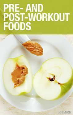 Great foods for pre and post workout.