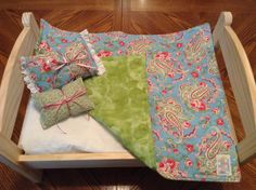 A personal favorite from my Etsy shop https://www.etsy.com/listing/192583199/light-blue-pink-and-green-little-quilt