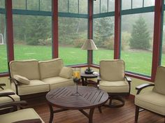 3 Season Porch Interior 4 Rooms Photo Gallery Archadeck Of