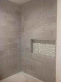 lowes tile when installed in a laundry room...looks great | housey ...
