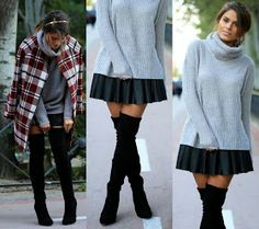 How to Chic: OVER THE KNEE BOOTS