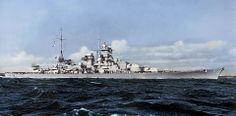 German Battlecruiser Scharnhorst