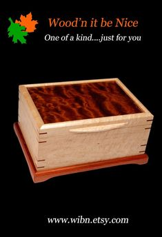 A custom wood jewelry box makes the perfect gift both functional and beautiful, Premium materials and fine craftsmanship ensure a lifetime of use and enjoyment. #jewelrybox #woodbox #customwoodbox Jewellery Box Making, Jewelry Box, 5th Wedding Anniversary, Wood Boxes, Custom Wood, Wood Art, Etsy Seller, Nice, Creative