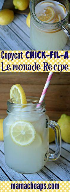 Chick-Fil-A Copycat Lemonade Recipe