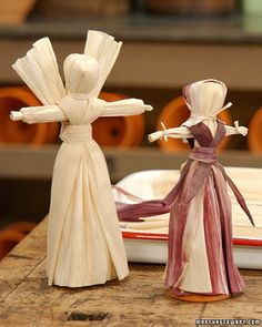 Cornhusk Dolls | Step-by-Step | DIY Craft How To's and Instructions| Martha Stewart