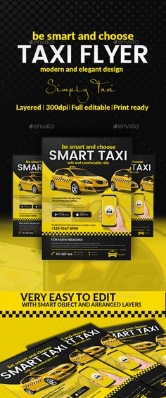 Taxi #Flyer - Commerce Flyers