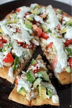 Eat, Pray, Hope: greek pizza (sister style)