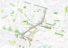 MVRDV and Studio Makkink & Bey to transform Seoul overpass into High Line-inspired park called Seoul Skygarden
