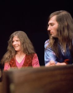 JANIS JOPLIN Tumblr- with Sam Andrew, guitarist for  Janis in BBHC & Kozmik Blues bands