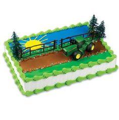 Hy-Vee -Decorated Cakes - John Deere Tractor Cake CK-382C