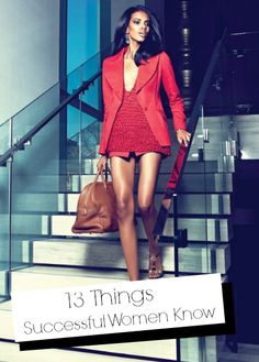 13 Things Successful Women Know