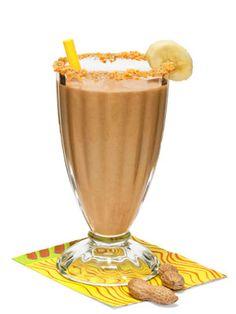 Peanut Butter And Banana Power Shake