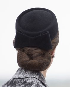 Kate Middleton Wears Hairnet and Topsy Tail