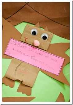 Stellaluna Fun! Great crafts and activities to go along with Stellaluna  As featured on Reading List's Children's Corner (http://forfunreadinglist.blogspot.com/2015/10/childrens-corner-stellaluna.html)   #Stellaluna #Bats #ChildrensCorner