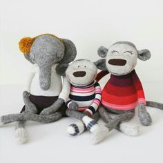 Sock toys by Amber Vroom