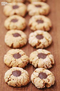 Coffee & Hazelnut Cookies