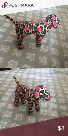Victoria's Secret dog Leopard print PINK dog (can be purchased in a bundle for 20% off) Other