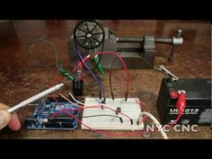 Control a DC Motor with Arduino and a Relay! How-To Tutorial from NYC CNC…